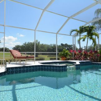 Phifer 18 x 14 Fiberglass Mesh Pool and Patio Screen